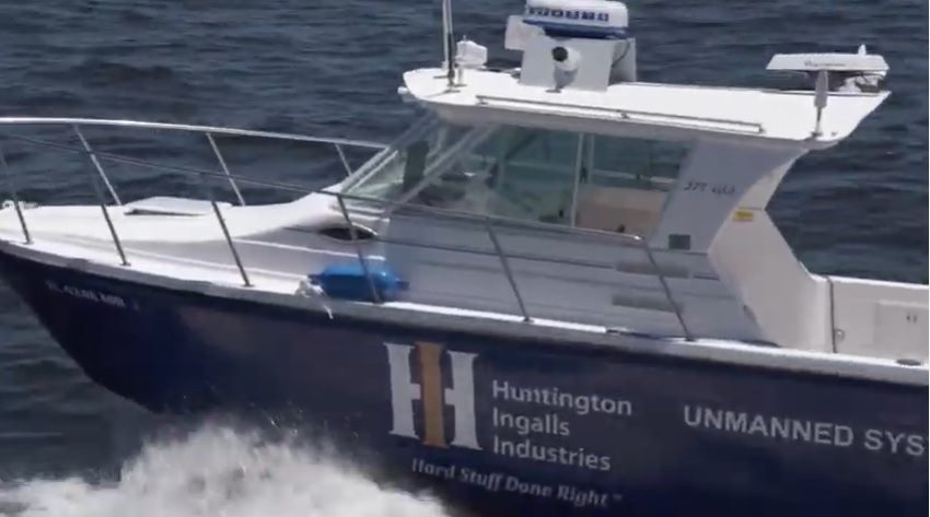 Huntington Ingalls Industries Debuts Proteus Unmanned Surface Vessel with Sea Machines' SM300 System