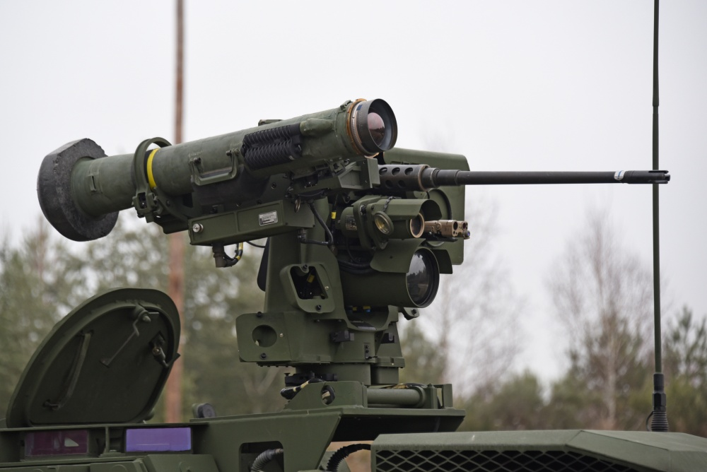 Kongsberg Common Remotely Operated Weapon Station (CROWS)