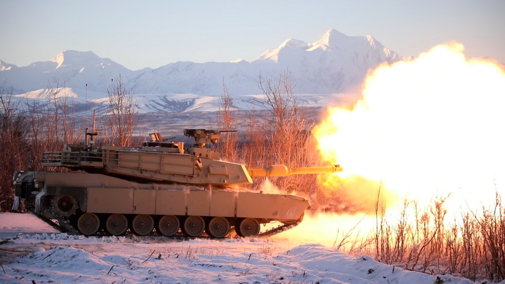 M1A2 Abrams System Enhancement Package (SEP) version 3 (v3) main battle tank