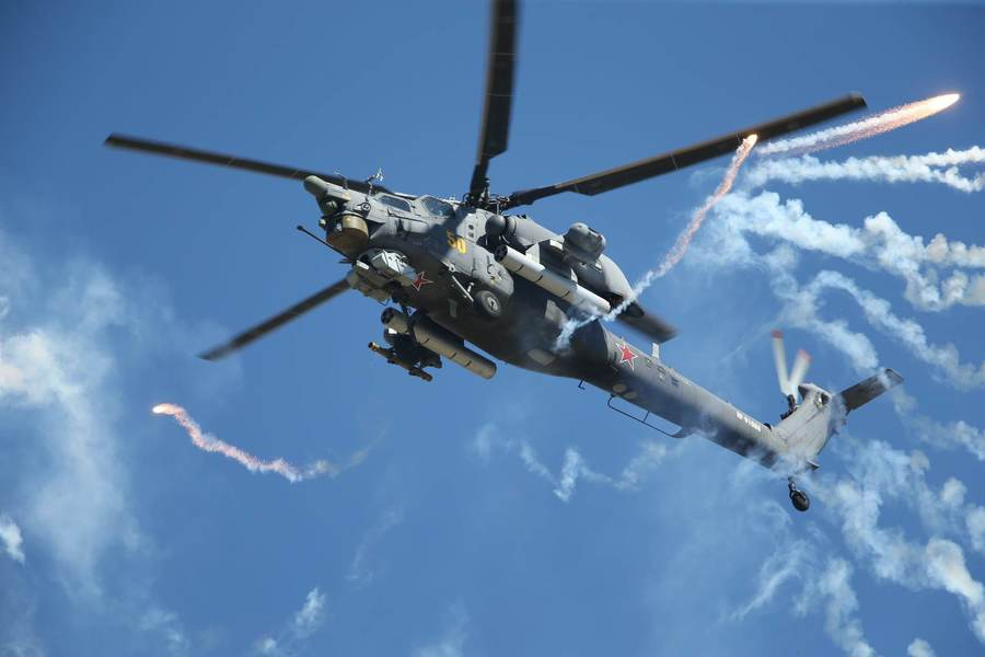 Mi-28 Attack Helicopters