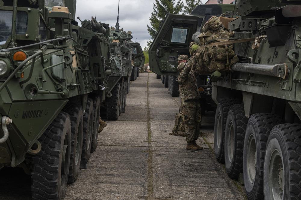 NATO Force Integration Unit Slovakia Facilitates Mass Transit of US Forces