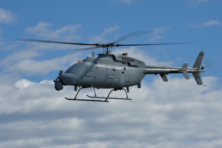 Northrop Grumman MQ-8C Fire Scout Unmanned Helicopter