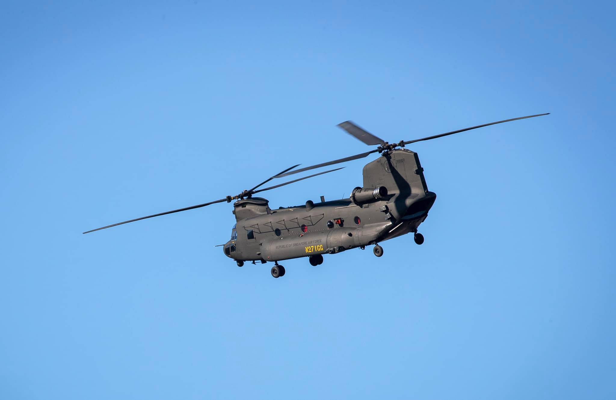 Republic of Singapore Air Force Boeing CH-47F Heavy-lift Helicopter