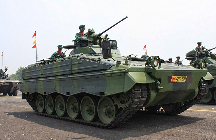 Indonesian Army Marder Infantry Fighting Vehicle