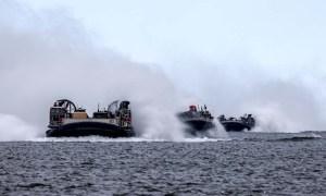 Royal Marines Storm British Beaches Ahead of North European Mission