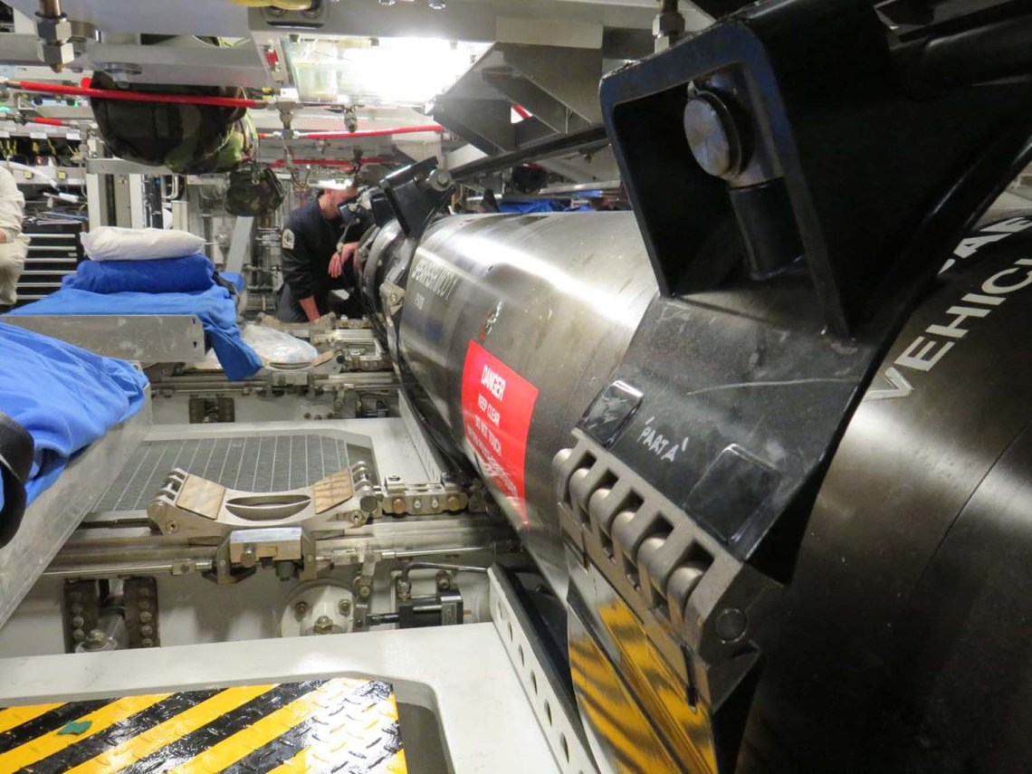 Royal Navy's Upgraded Torpedo Tested in Deep Waters with HMS Audacious