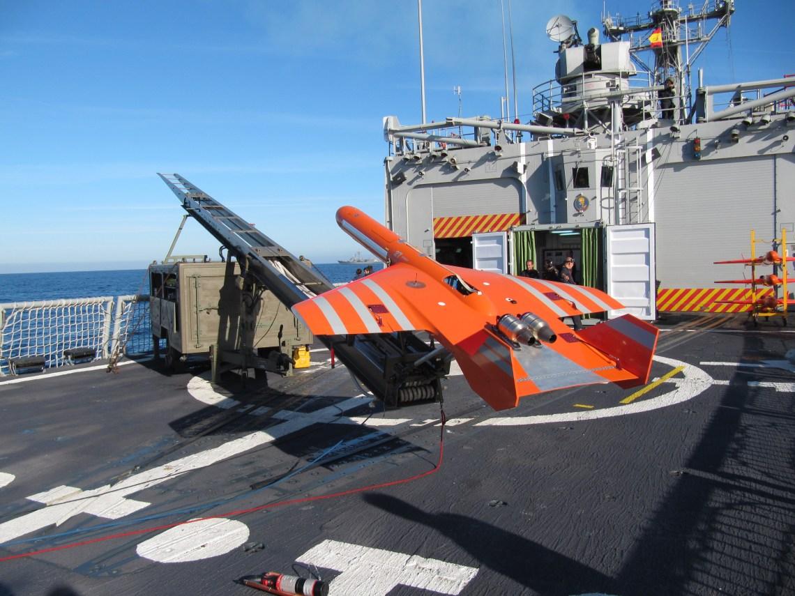 SCRAB II twin turbine target drone