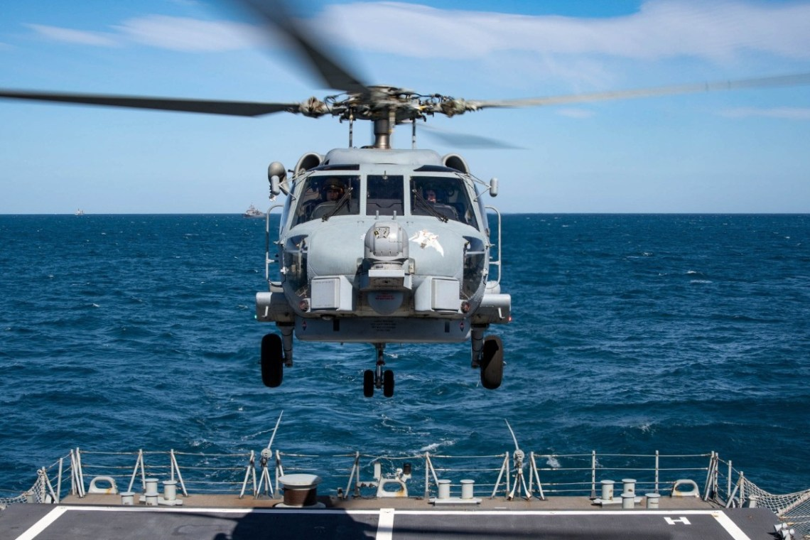 Standing NATO Maritime Group Two Participate in PHIBEX 21