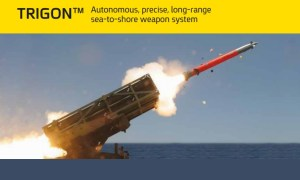 Elbit Systems Unveils TRIGON Naval Rocket and Missile Launcher System