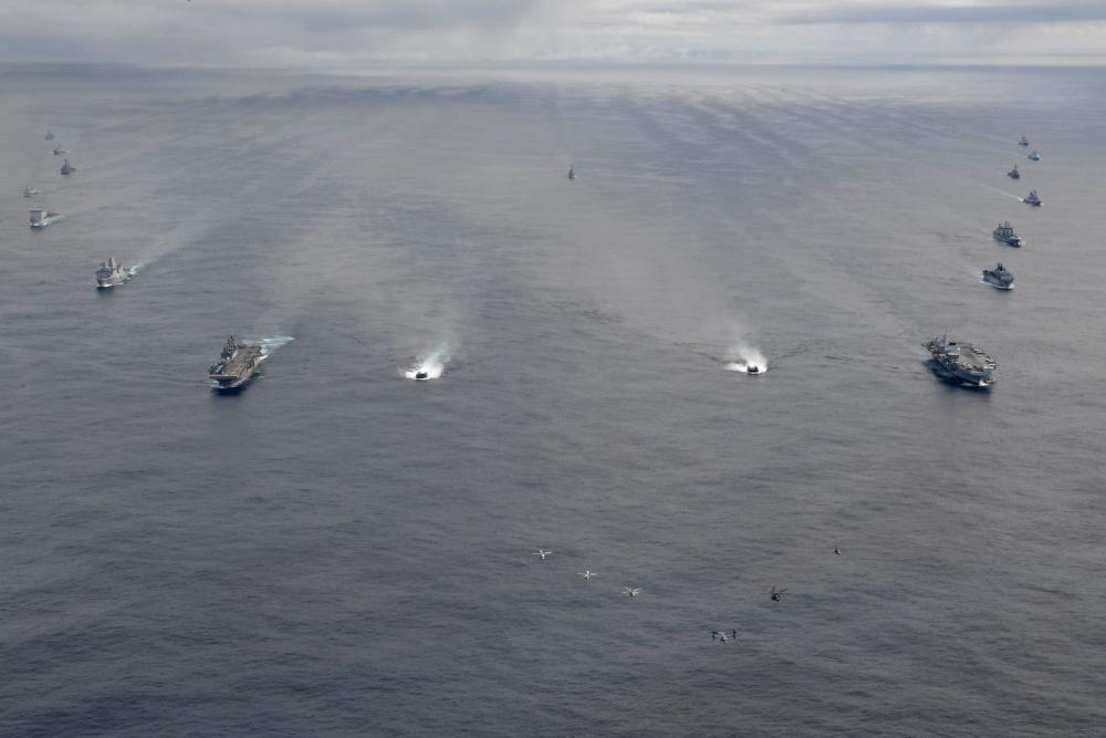 Two Major Maritime Exercises In The North Atlantic Ocean
