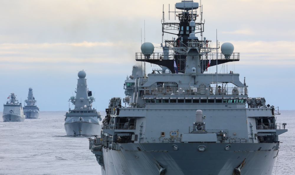 Two major North Sea Maritime Exercises Converge
