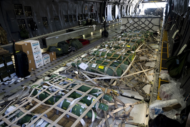 US Air Force Sends Medical Supplies to India to Help in COVID-19 Fight