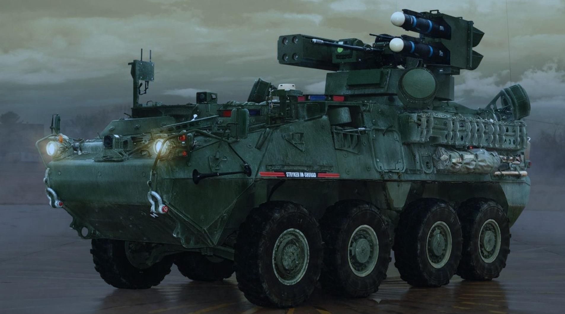 U.S. Army's Maneuver Short-Range Air Defense Increment 1 (M-SHORAD Inc. 1) program