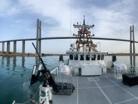 US Coast Guard USCGC Charles Moulthrope and Robert Goldman Transit Suez Canal