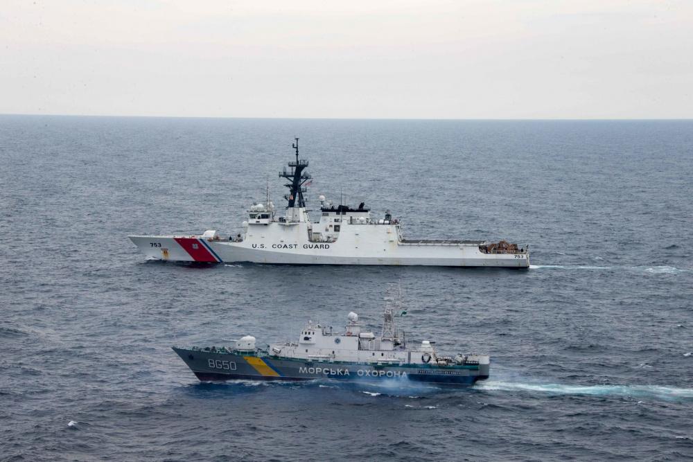 US Coast Guard USCGC Hamilton (WMSL 753) Concludes Black Sea Operations
