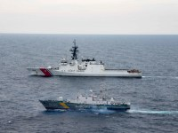 US Coast Guard USCGC Hamilton (WMSL 753) Concludes Black Sea Operations