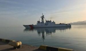 US Coast Guard USCGC Hamilton (WMSL 753) Conducts Port visit in Batumi, Georgia