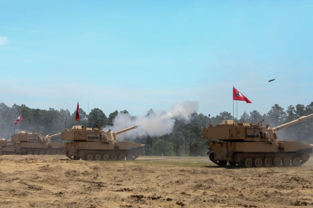 US National Guard Receive New Paladin M109A7 Self-Propelled Howitzer