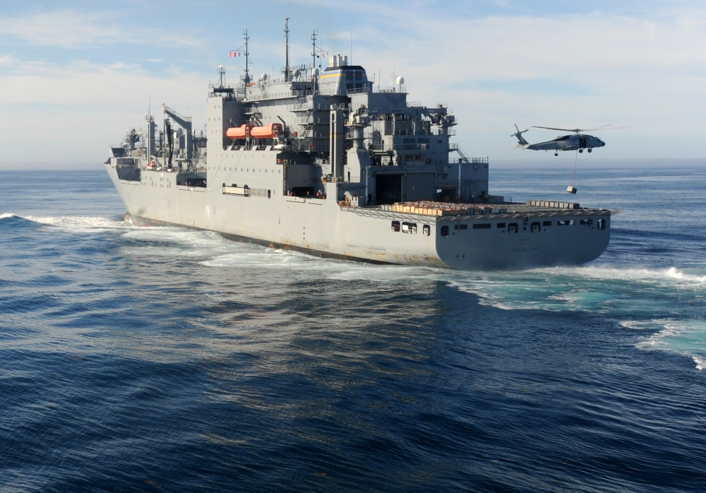 US Navy USNS Lewis and Clark (T-AKE-1)