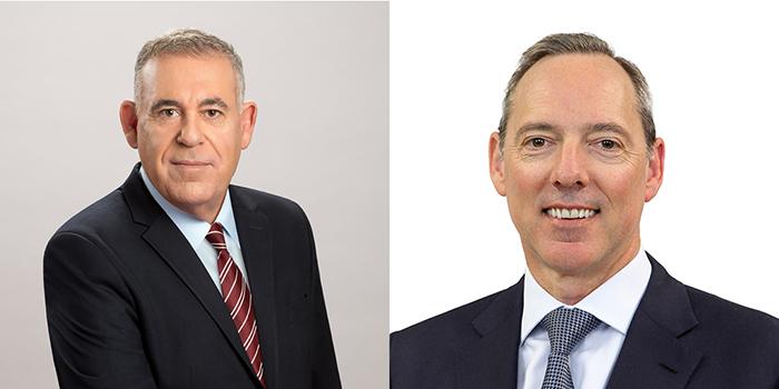 Boaz Levy, IAI's President & CEO & Robert Nioa, CEO of NIOA and The Australian Missile Corporation