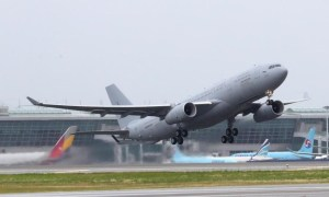 Republic of Korea Air Force 5th Air Mobility Wing KC-330 Multi Role Tanker Transport