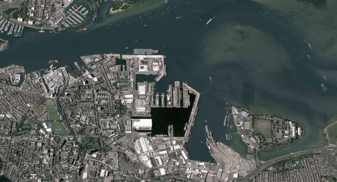 Airbus to Provide Satellite-based Maritime Surveillance Services for Royal Navy