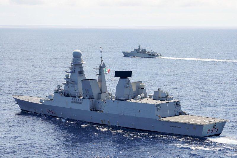 Italian destroyer Andrea Doria