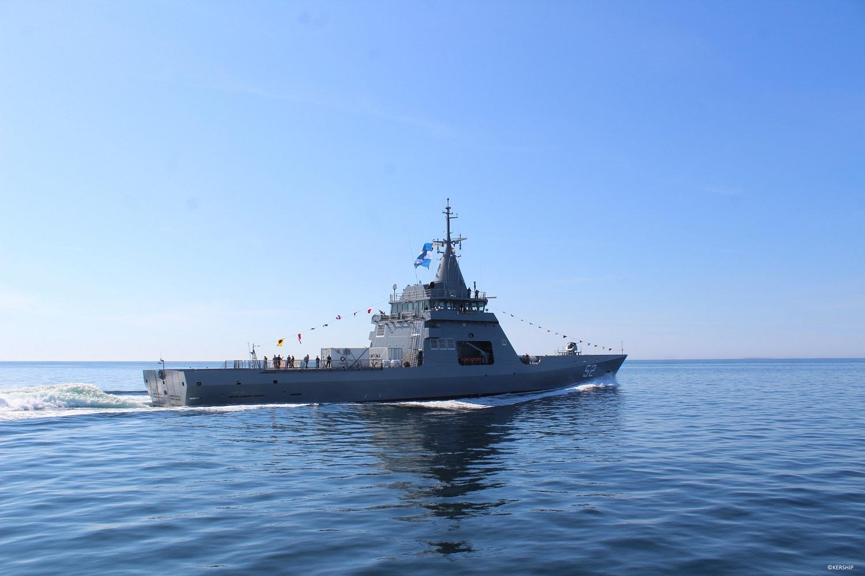 Argentine Navy ARA Piedrabuena (P-52) Offshore Patrol Vessel