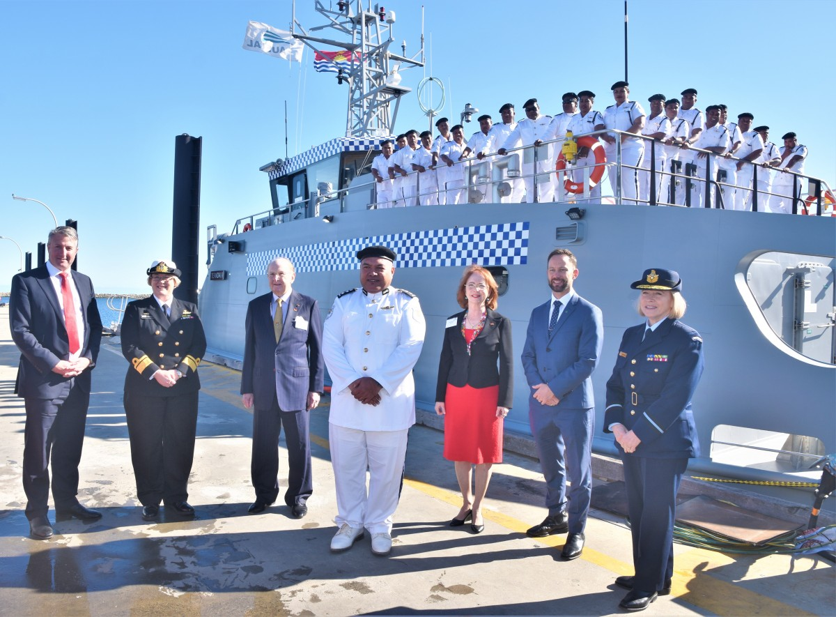 Austal- Australia Delivers 11th Guardian-class Patrol Boat to Republic of Kiribati