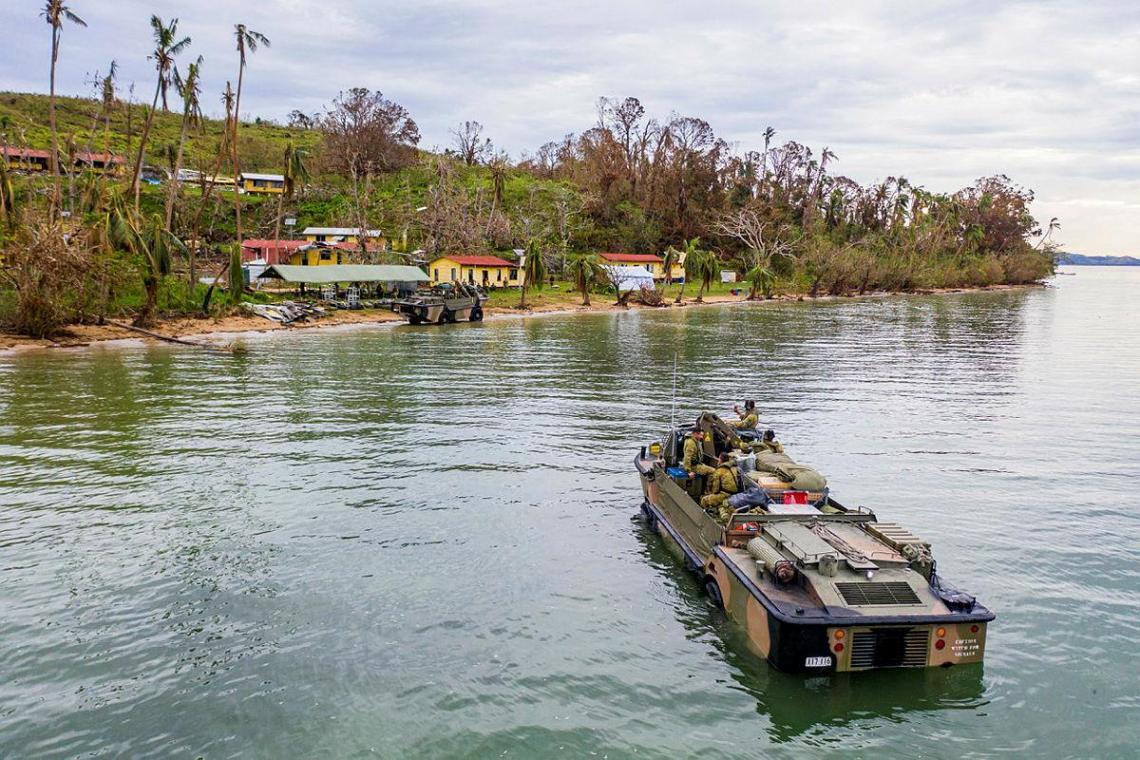 Australian Army Lighter Amphibious Resupply Cargo - Vehicle (LARC-V)
