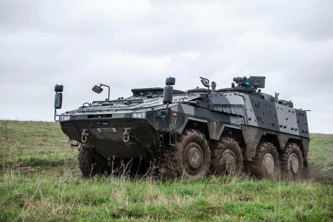British Army Mechanised Infantry Vehicle (MIV)