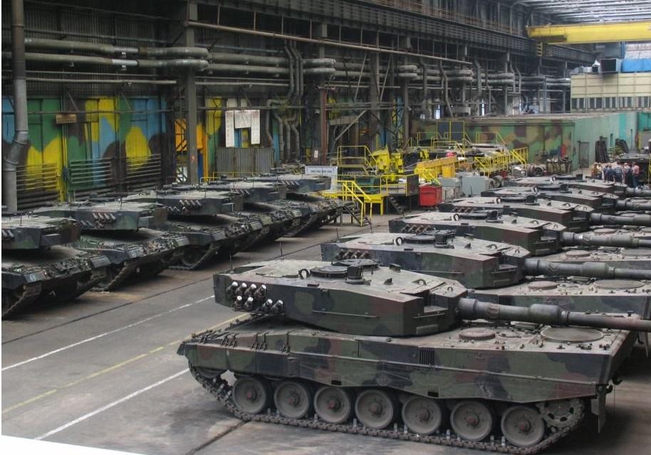 Leopard 2PL Main Battle Tank