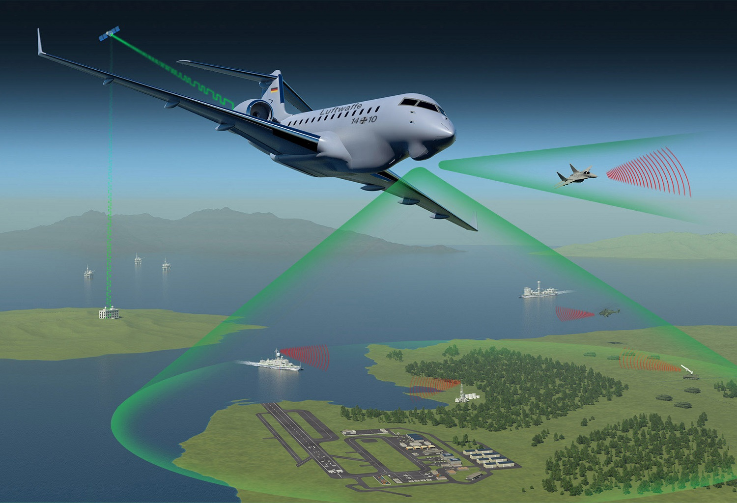 HENSOLDT Awarded Contract for Pegasus Airborne Electronic Signals Intelligence System