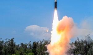 India Successfully Flight Tests New Generation Agni P Medium Range Ballistic Missile
