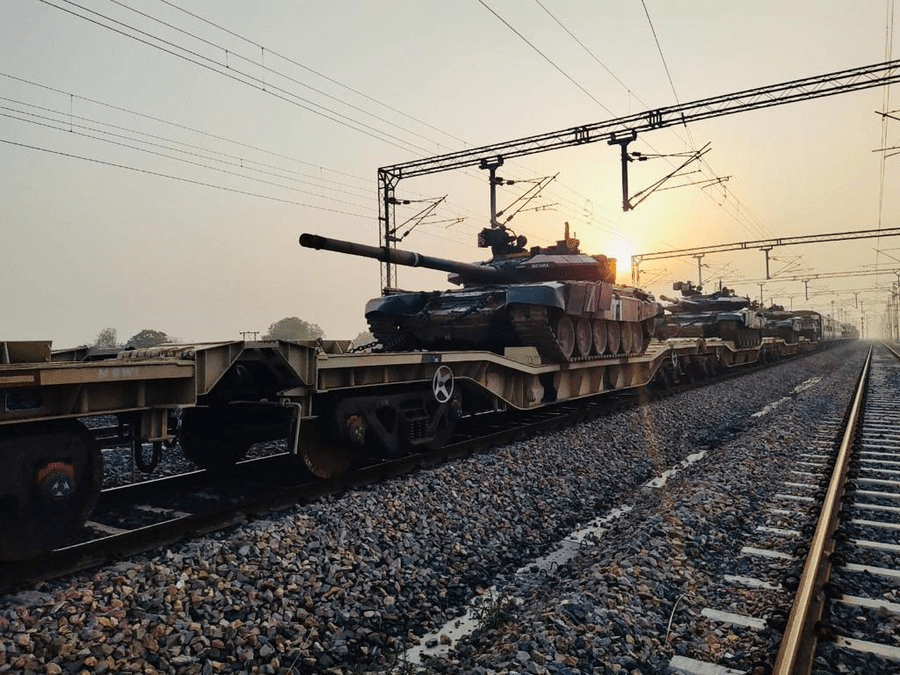 Indian Army Conducts Successful Trial of Military Train on Dedicated Freight Corridor (DFC)