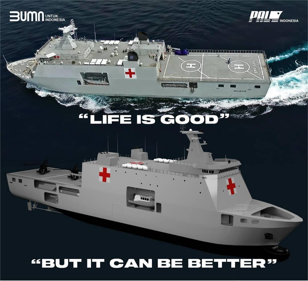 Indonesian Navy Hospital Assistance Ship