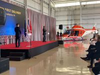 Leonardo Helicopters Delivers First TH-73A Training Helicopter to US Navy