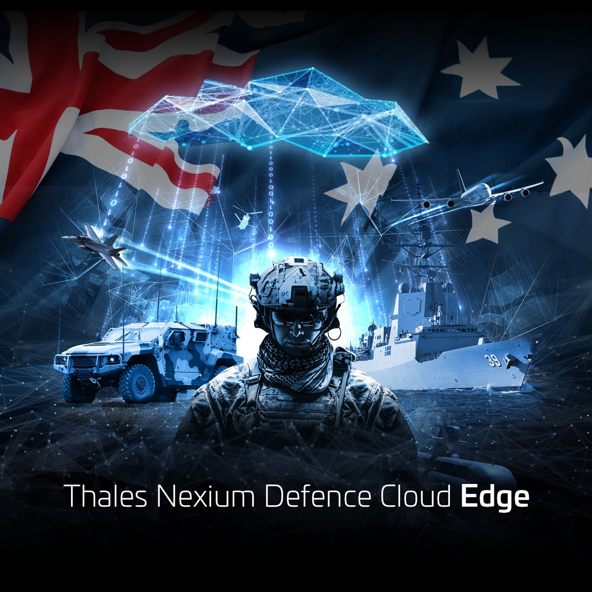 Thales Microsoft and Partners to Launch Nexium Defence Cloud Edge (NDC Edge)