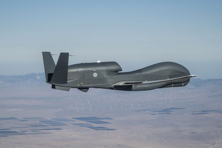 Northrop Grumman Completes First Flight of Japan's Second RQ-4B Global Hawk Unmanned Air Vehicle