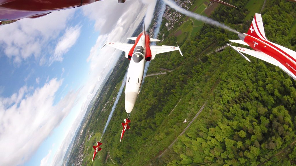 Swiss Air Force Patrouille Suisse F-5E TIGER II
