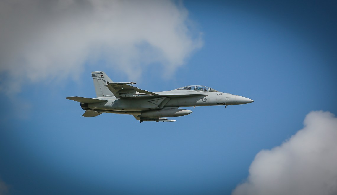 Royal Australian Air Force F/A-18F Super Hornet