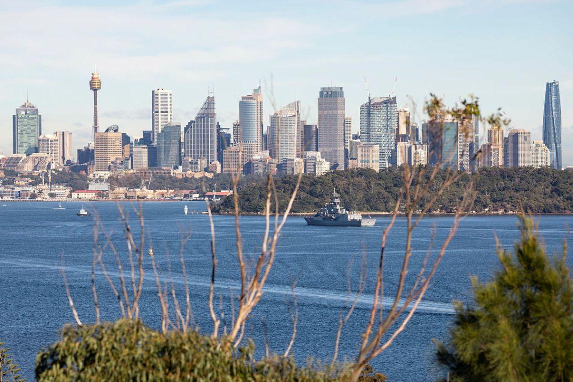 HMAS Parramatta HMAS Parramatta sails through Sydney Harbour to her homeport at Fleet Base East following a ten-week Regional Presence Deployment.