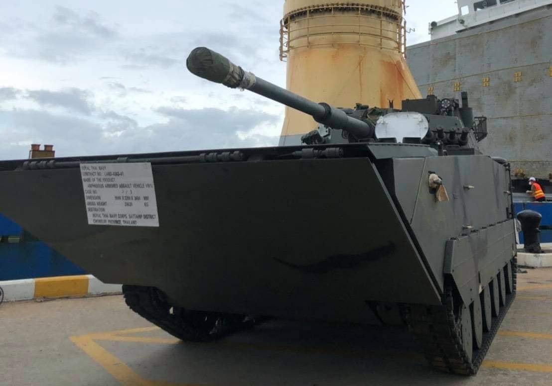 Royal Thai Marines Corps Receive VN16 Amphibious Assault Vehicle