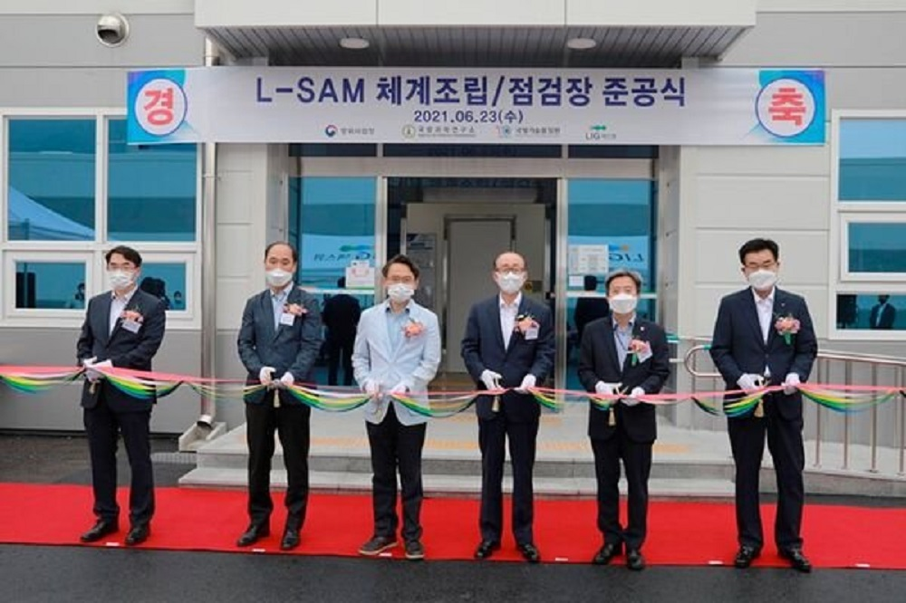 South Korea's LIG Nex1 Opens Facility for L-SAM Missile Defense System