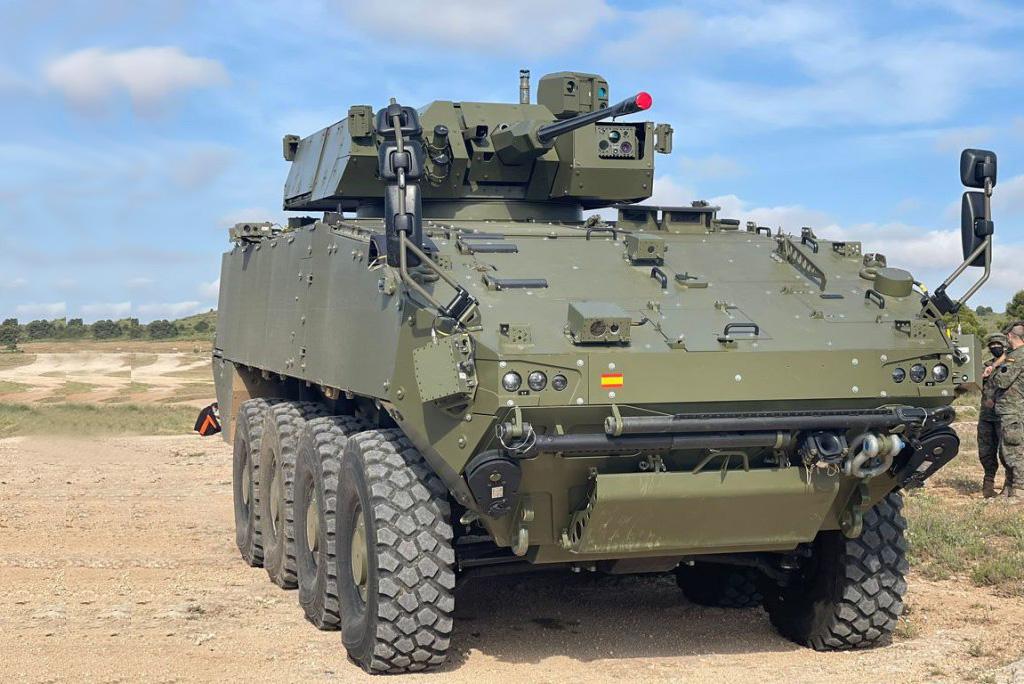 Escribano Chosen to Provide Guardian 30 Turret for Spanish Army VCR 8x8 Dragon