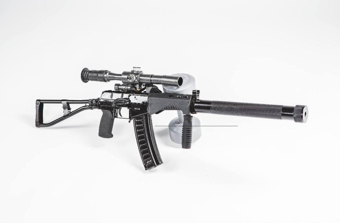 SR-3 Vikhr 9×39mm compact assault rifle