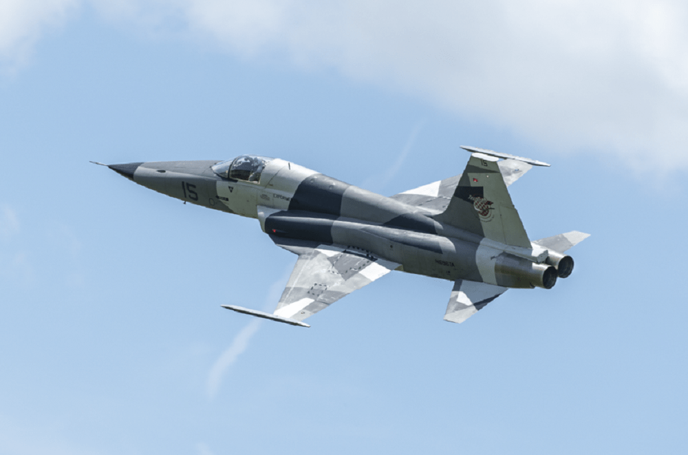 Tactical Air Support F-5 Advanced Tigers (AT)