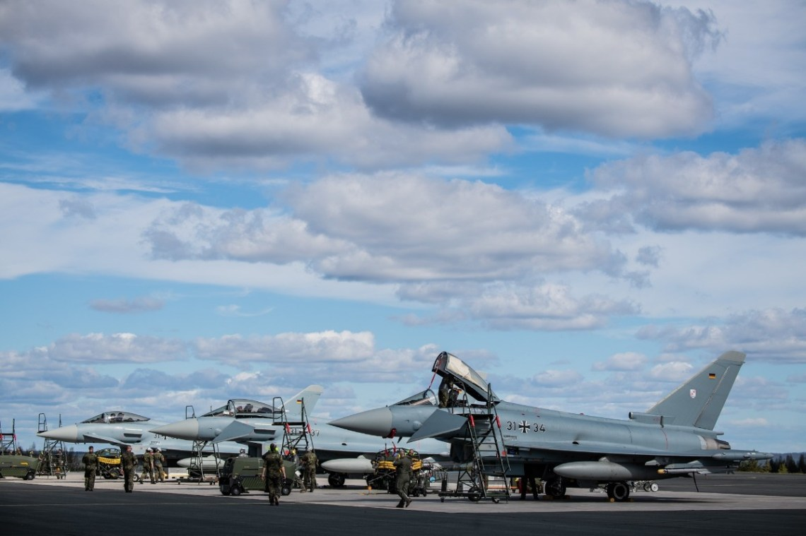 Ten German Eurofighters will be deployed at Rovaniemi Air Base participating in training activities during ACE21