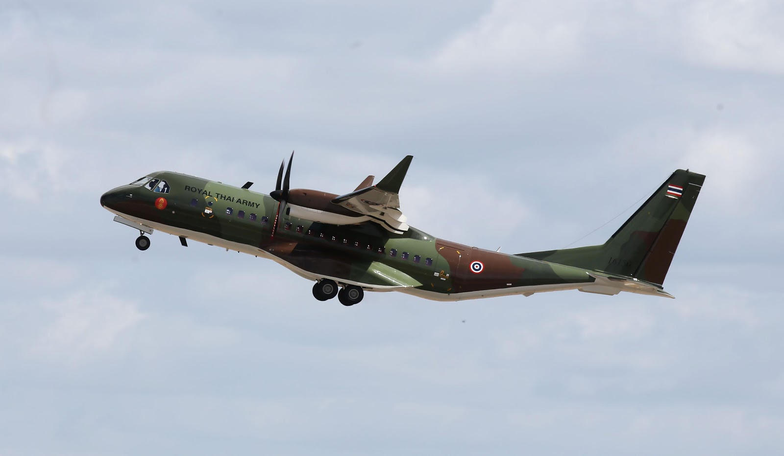 Thailand Ministry of Defence Orders Additional Airbus C295 Tactical Transport