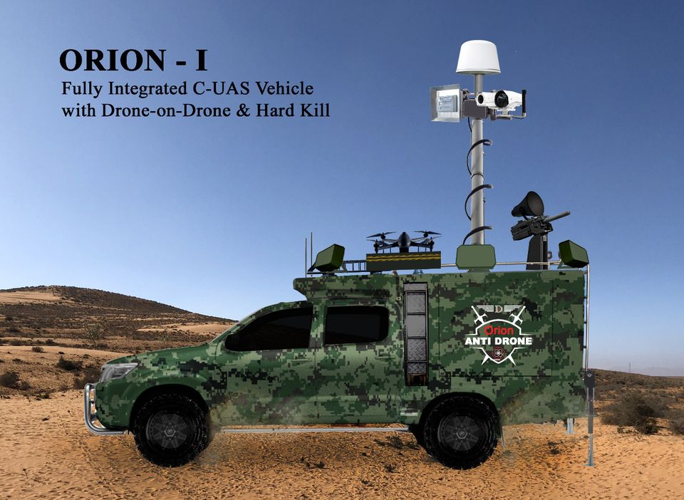 TRD Singapore Orion Counter Unmanned Aerial System (C-UAS)